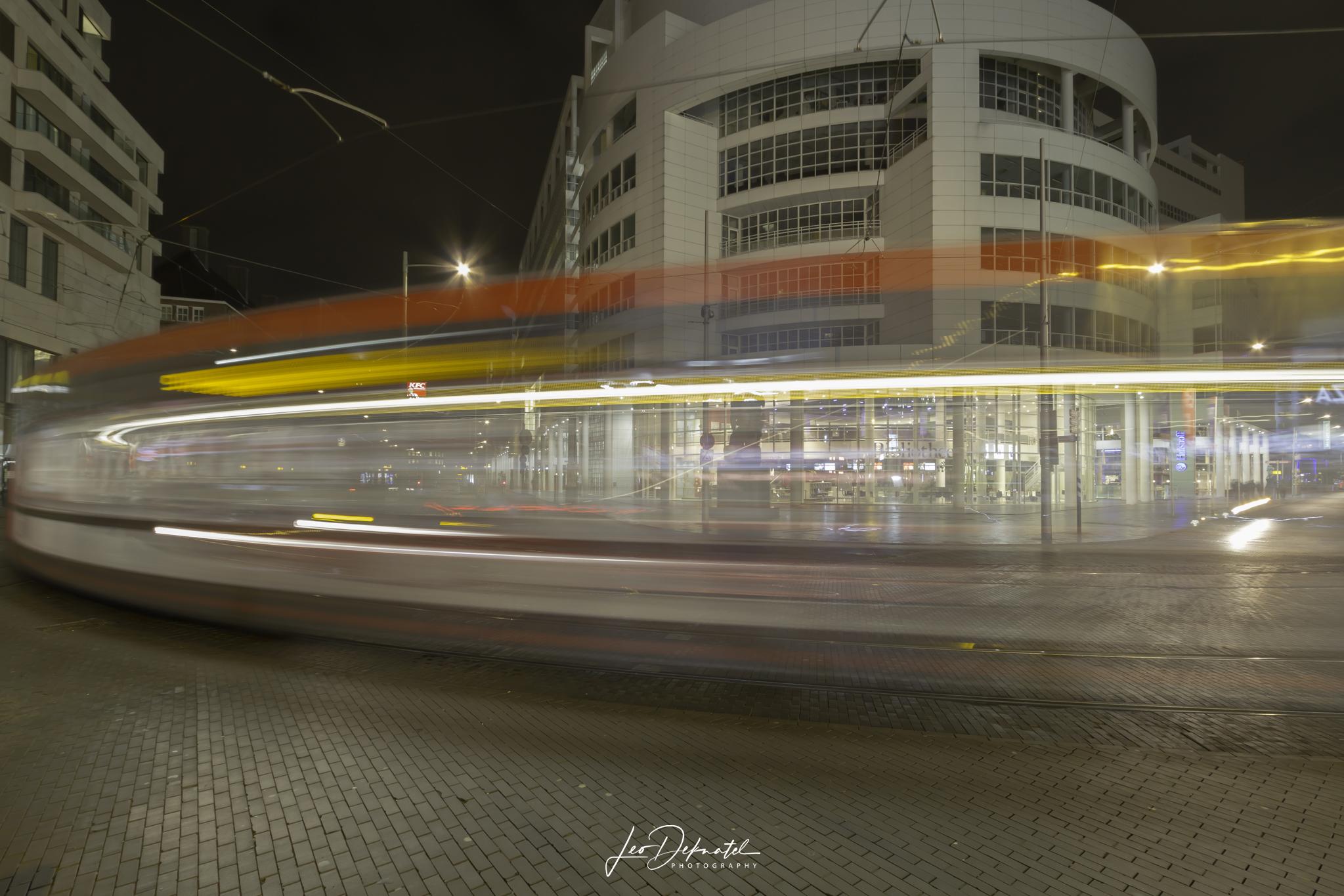 Spui Den Haag, Best off 2018, Avond- nachtfotografie, lange sluitertijden